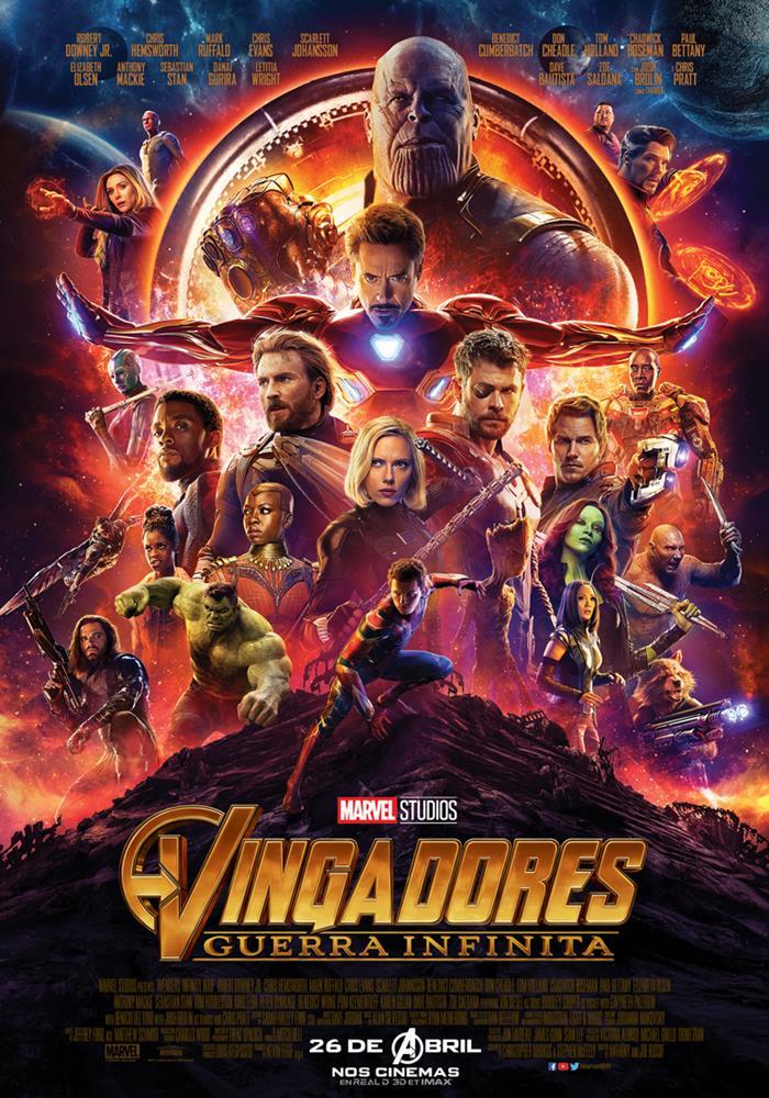 Resultado de imagem para vingadores guerra infinita poster