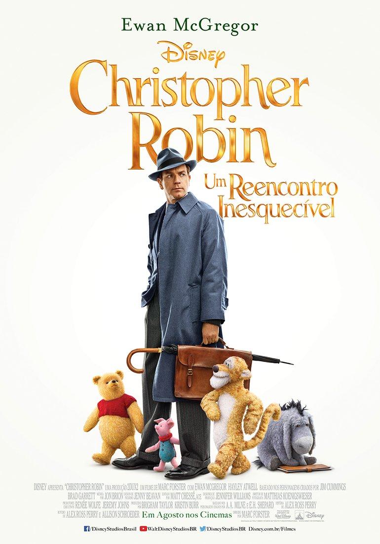 Resultado de imagem para Christopher Robin: Um Reencontro Inesquecível cartaz