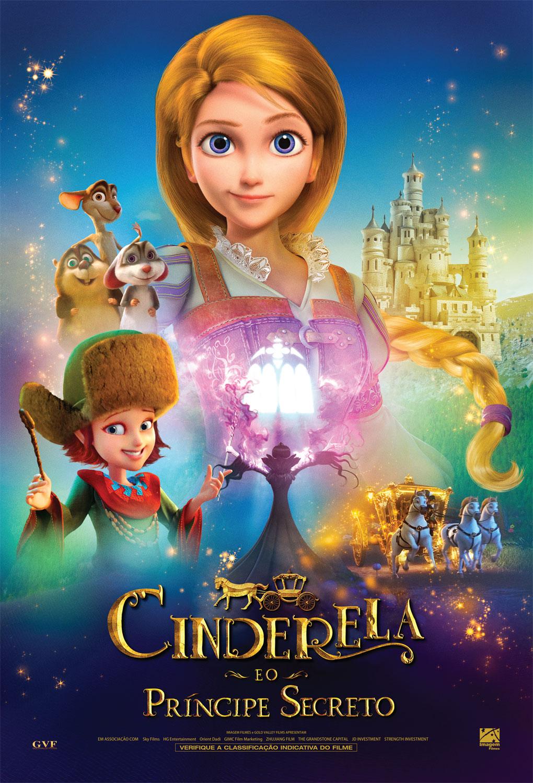 Resultado de imagem para cartaz do filme cinderela e o principe secreto