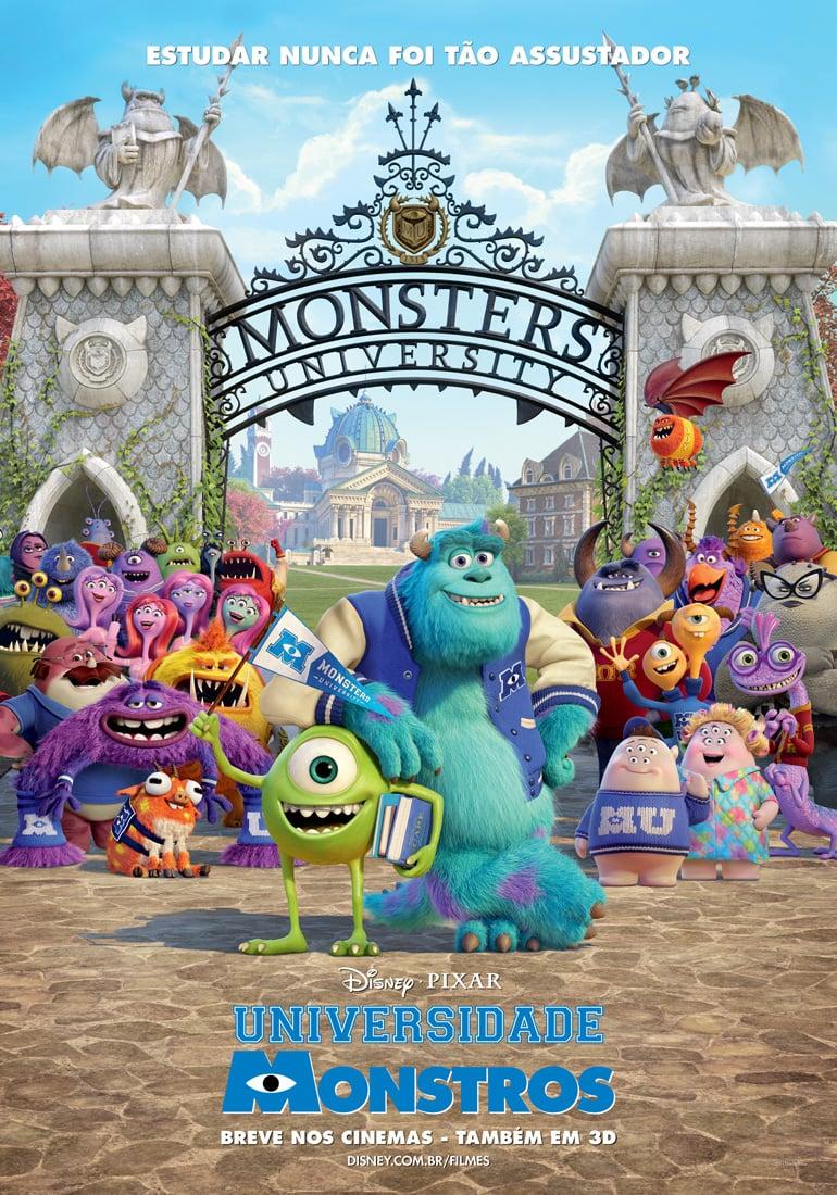 Universidade Monstros Filme 2013 Adorocinema