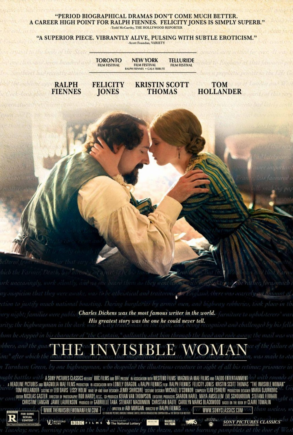 Poster 21047707 20131030101649306 Baixar Filme The Invisible Woman Dublado 2014 + Legenda (Completo)