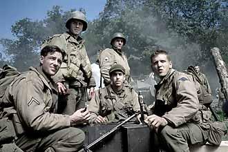 O Resgate do Soldado Ryan : Foto Adam Goldberg, Barry Pepper, Edward Burns, Tom Sizemore