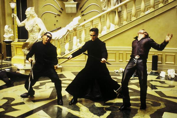 Matrix Reloaded : Foto Keanu Reeves