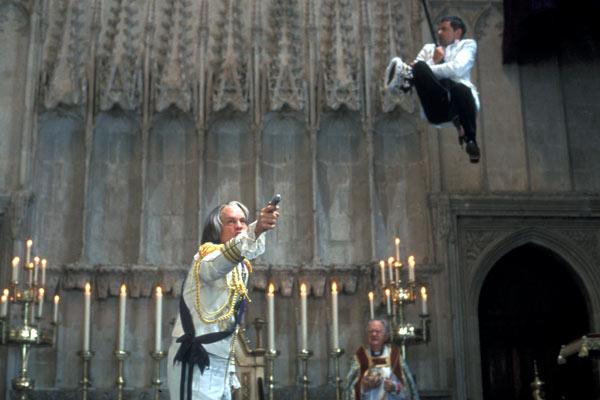 Johnny English : Foto John Malkovich, Rowan Atkinson