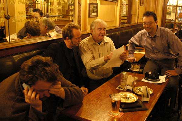 Cinéastes à tout prix : Photo Benoît Poelvoorde, Frédéric Sojcher, Noël Godin