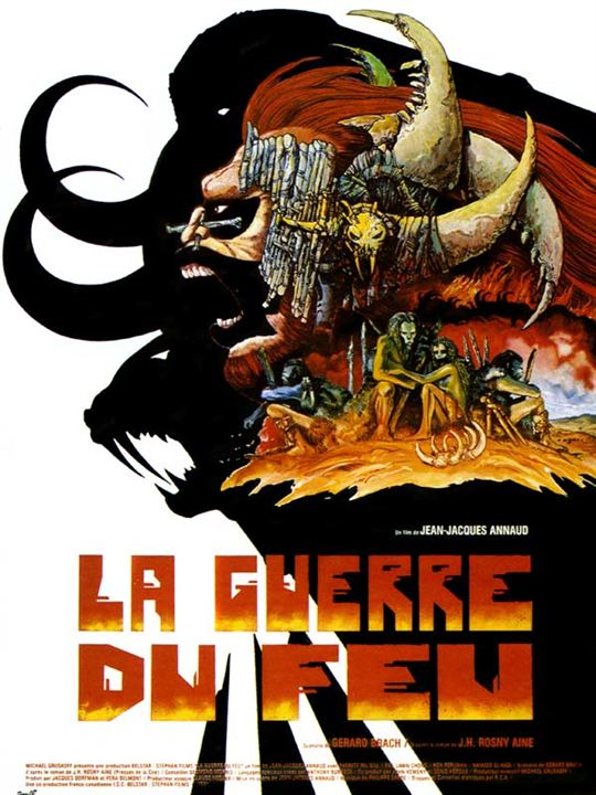 A Guerra do Fogo : Poster