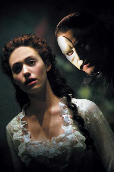 O Fantasma da Ópera : Foto Emmy Rossum, Gerard Butler