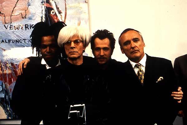 Basquiat - Traços de uma Vida : Foto David Bowie, Dennis Hopper, Gary Oldman, Jeffrey Wright