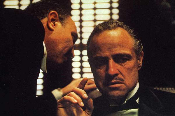 O Poderoso Chefão : foto Francis Ford Coppola, Marlon Brando