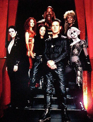 Farscape : Foto Anthony Simcoe, Ben Browder, Claudia Black, Gigi Edgley, Melissa Jaffer