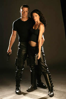 Farscape : Foto Ben Browder, Claudia Black