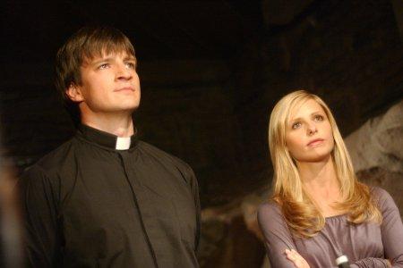 Buffy, a Caça-Vampiros : Foto Nathan Fillion, Sarah Michelle Gellar