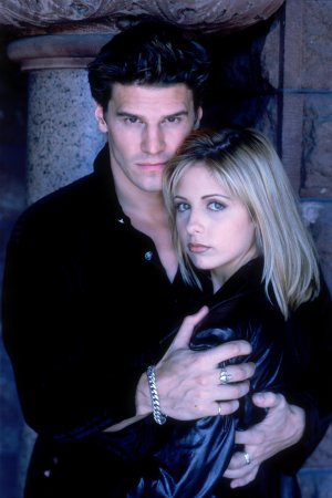 Buffy, a Caça-Vampiros : Foto David Boreanaz, Sarah Michelle Gellar