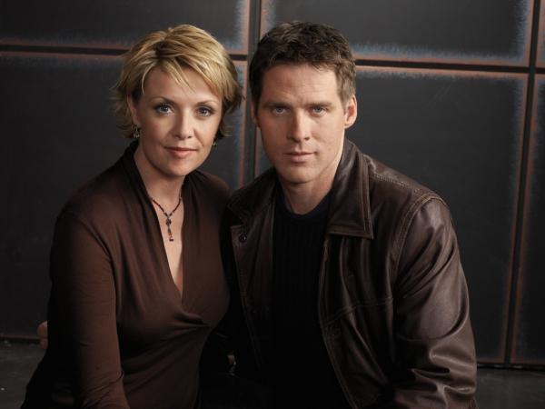 Stargate SG-1 : Foto Amanda Tapping, Ben Browder