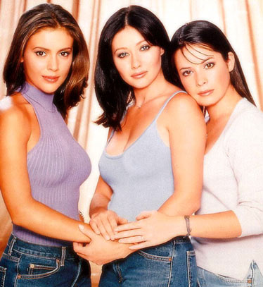 Charmed : Foto Alyssa Milano, Holly Marie Combs, Shannen Doherty