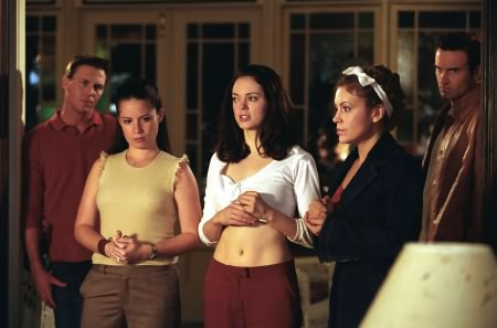 Charmed : Foto Alyssa Milano, Brian Krause, Holly Marie Combs, Julian McMahon, Rose McGowan