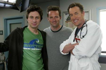 Scrubs : Foto John C. McGinley, Matthew Perry, Zach Braff