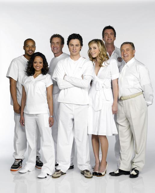 Scrubs : Foto Donald Faison, John C. McGinley, Judy Reyes, Ken Jenkins, Neil Flynn