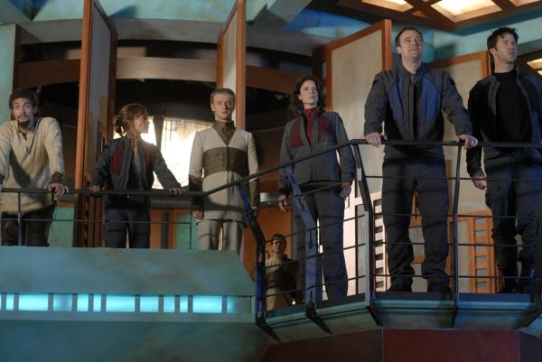 Stargate: Atlantis : Foto David Hewlett, Jason Momoa, Joe Flanigan, Rachel Luttrell, Torri Higginson