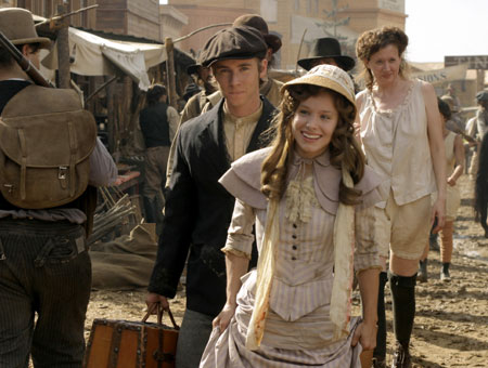 Deadwood : Foto Greg Cipes, Kristen Bell
