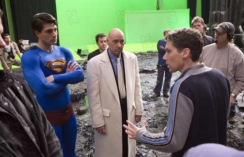 Superman - O Retorno : Foto Brandon Routh, Bryan Singer, Kevin Spacey