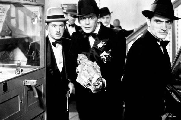 Scarface, a Vergonha de uma Nação : Foto Howard Hawks, Paul Muni, Vince Barnett