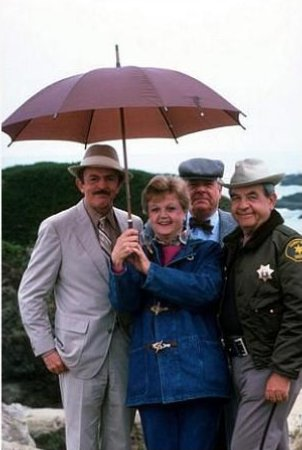 Assassinato por Escrito : Foto Angela Lansbury, John Astin, Tom Bosley, William Windom