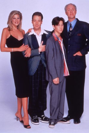 3rd Rock from the Sun : Foto French Stewart, John Lithgow, Joseph Gordon-Levitt, Kristen Johnston