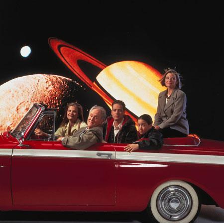 3rd Rock from the Sun : Foto French Stewart, Jane Curtin, John Lithgow, Joseph Gordon-Levitt, Kristen Johnston
