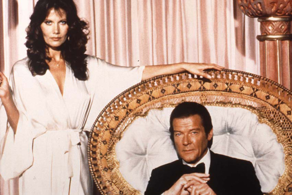 007 Contra Octopussy : Foto John Glen, Maud Adams, Roger Moore
