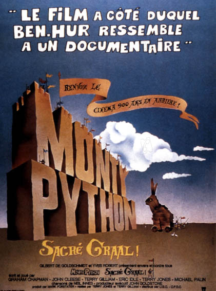 Monty Python em Busca do Cálice Sagrado: Graham Chapman, John Cleese
