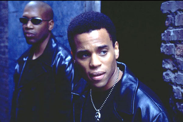Foto Ernest R. Dickerson, Michael Ealy