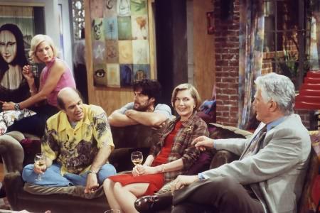 Dharma & Greg : Foto Alan Rachins, Jenna Elfman, Mitchell Ryan, Susan Sullivan, Thomas Gibson