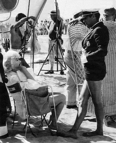 Quanto Mais Quente Melhor : Foto Billy Wilder, Marilyn Monroe, Tony Curtis