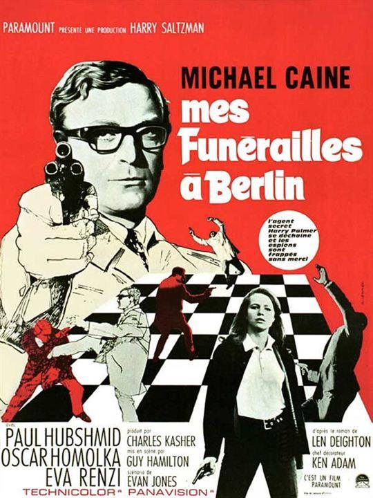 Funeral em Berlim : Poster