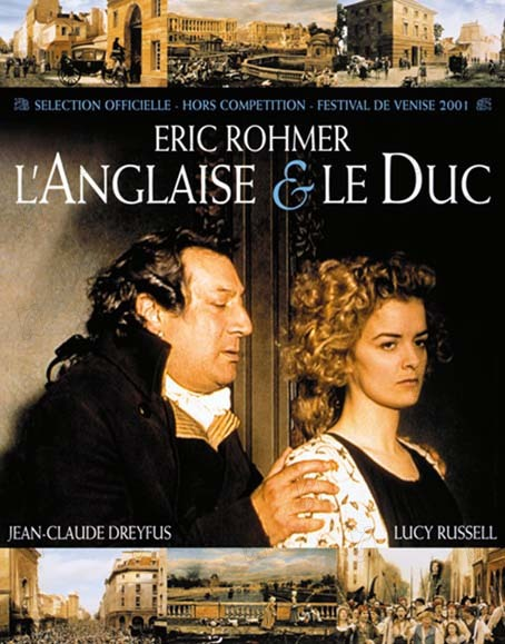 A Inglesa e o Duque : Foto Eric Rohmer, Jean-Claude Dreyfus, Lucy Russell