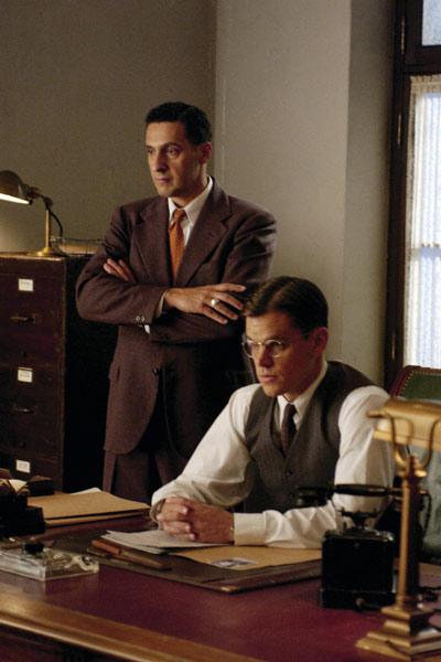 O Bom Pastor : Foto John Turturro, Matt Damon, Robert De Niro