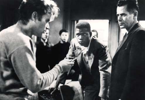 Sementes de Violência : Foto Glenn Ford, Richard Brooks, Sidney Poitier