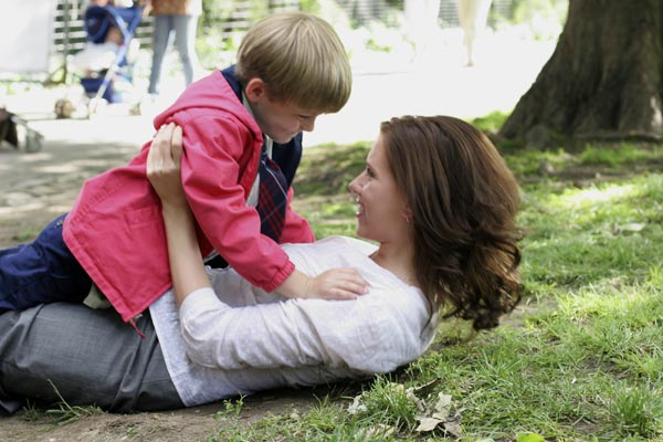 O Diário de uma Babá : Foto Robert Pulcini, Scarlett Johansson, Shari Springer Berman