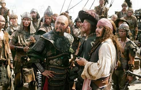 Piratas do Caribe - No Fim do Mundo: Johnny Depp,  Chow Yun-Fat