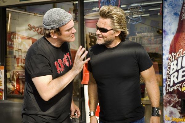 À Prova de Morte : Foto Kurt Russell, Quentin Tarantino
