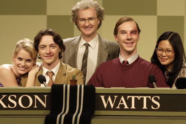 Garoto Nota 10 : Foto Alice Eve, Benedict Cumberbatch, James McAvoy, Mark Gatiss, Tom Vaughan