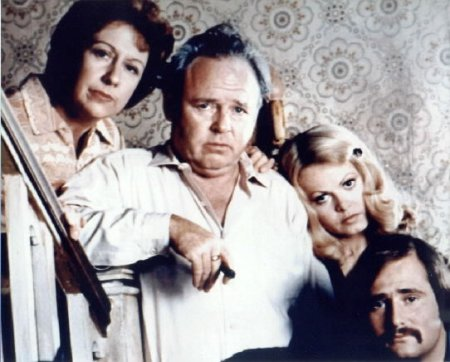 Tudo em Família : Foto Carroll O'Connor, Jean Stapleton, Sally Struthers