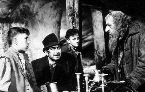 Oliver Twist : Foto Alec Guinness, John Howard Davies, Robert Newton