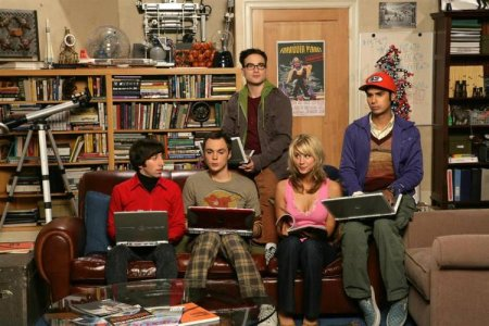 The Big Bang Theory : Foto Jim Parsons, Johnny Galecki, Kaley Cuoco, Kunal Nayyar, Simon Helberg