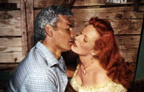 War Arrow : Foto George Sherman, Jeff Chandler, Maureen O'Hara