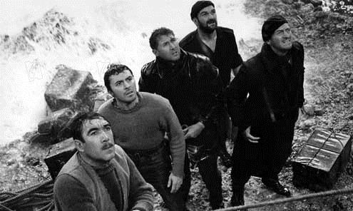 Os Canhões de Navarone : Foto Anthony Quayle, Anthony Quinn, David Niven, Jack Lee Thompson, James Darren