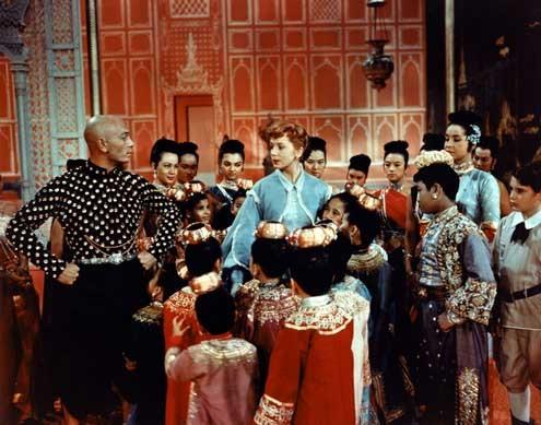 O Rei e Eu : Foto Deborah Kerr, Walter Lang, Yul Brynner
