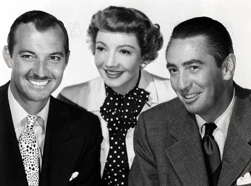 Foto Claudette Colbert, MacDonald Carey, Richard Sale, Zachary Scott
