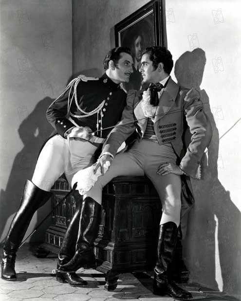 The Mark of Zorro : Foto Basil Rathbone, Rouben Mamoulian, Tyrone Power